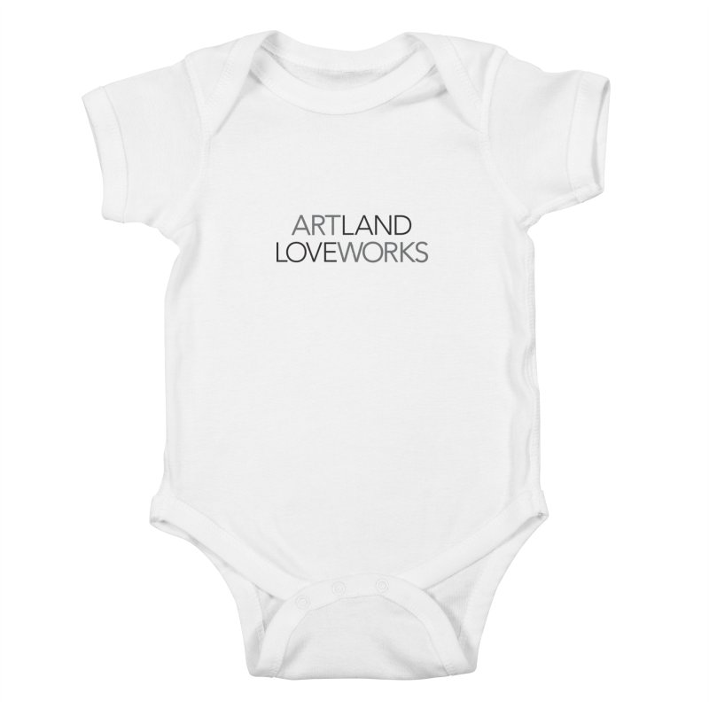 Art Land Love Works Kids Baby Bodysuit by Artworks Loveland