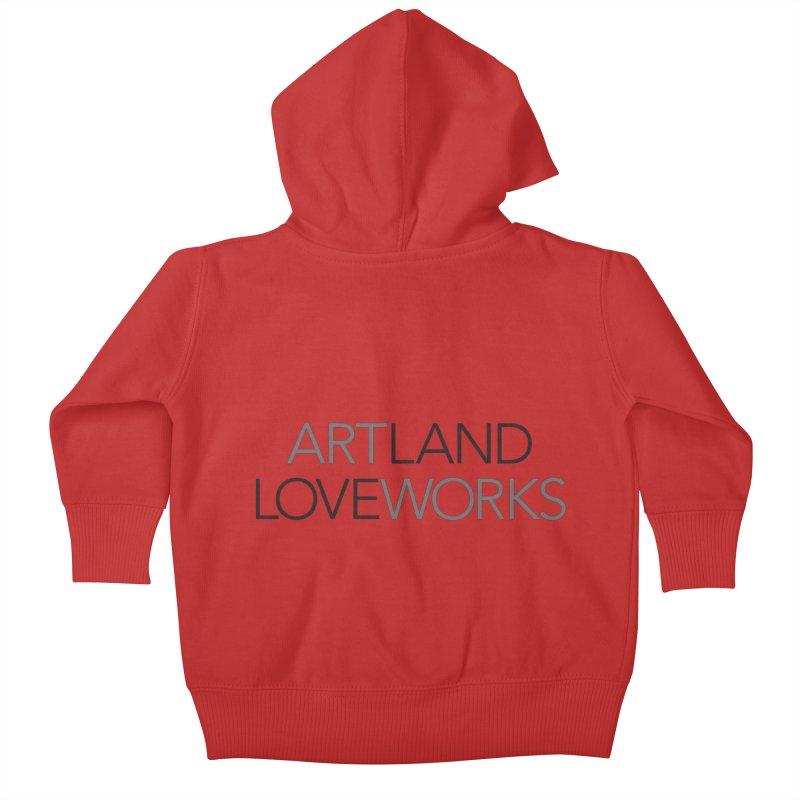 Art Land Love Works Kids Baby Zip-Up Hoody by Artworks Loveland