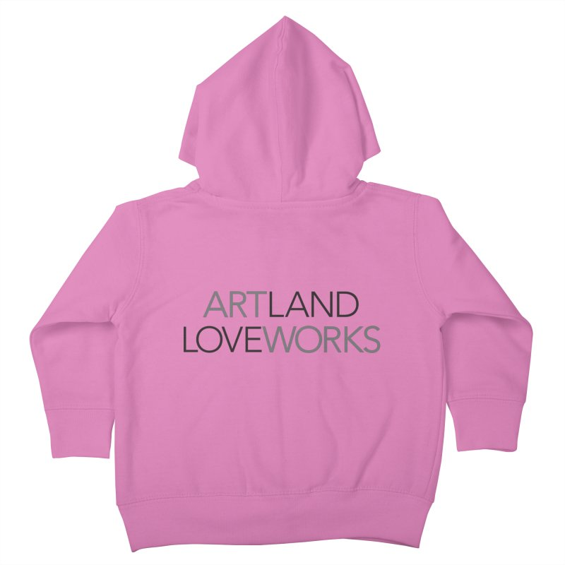 Art Land Love Works Kids Toddler Zip-Up Hoody by Artworks Loveland