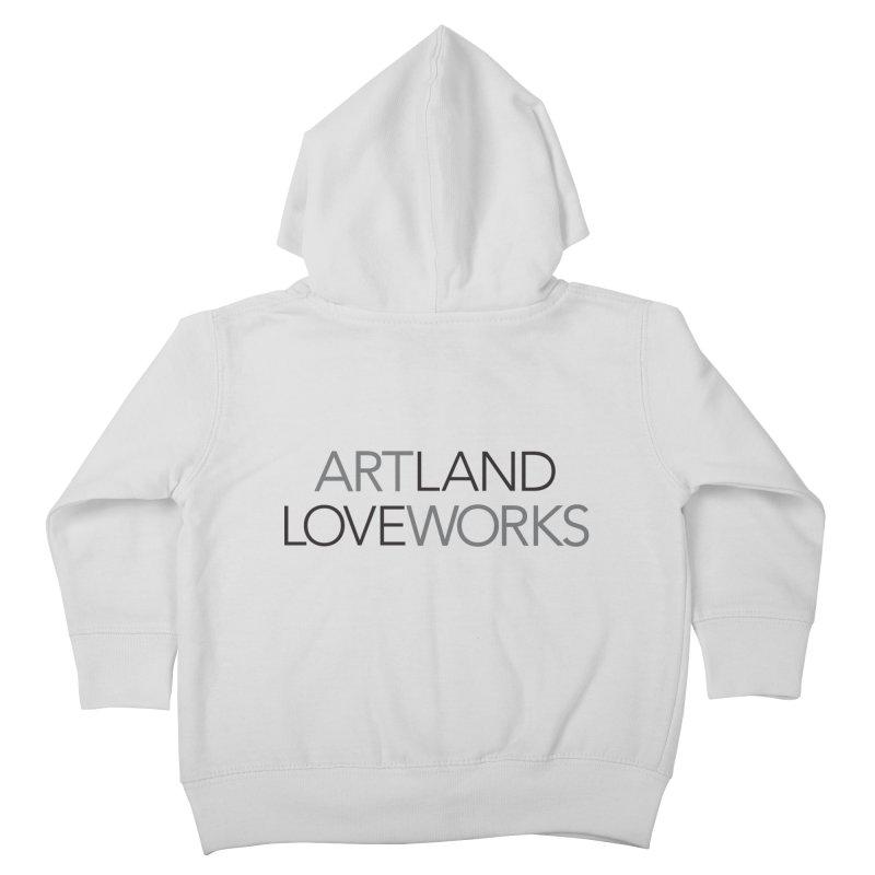 Art Land Love Works Kids Toddler Zip-Up Hoody by Artworks Loveland