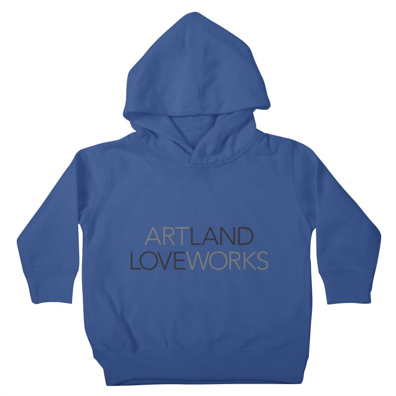 Art Land Love Works Kids Toddler Pullover Hoody by Artworks Loveland