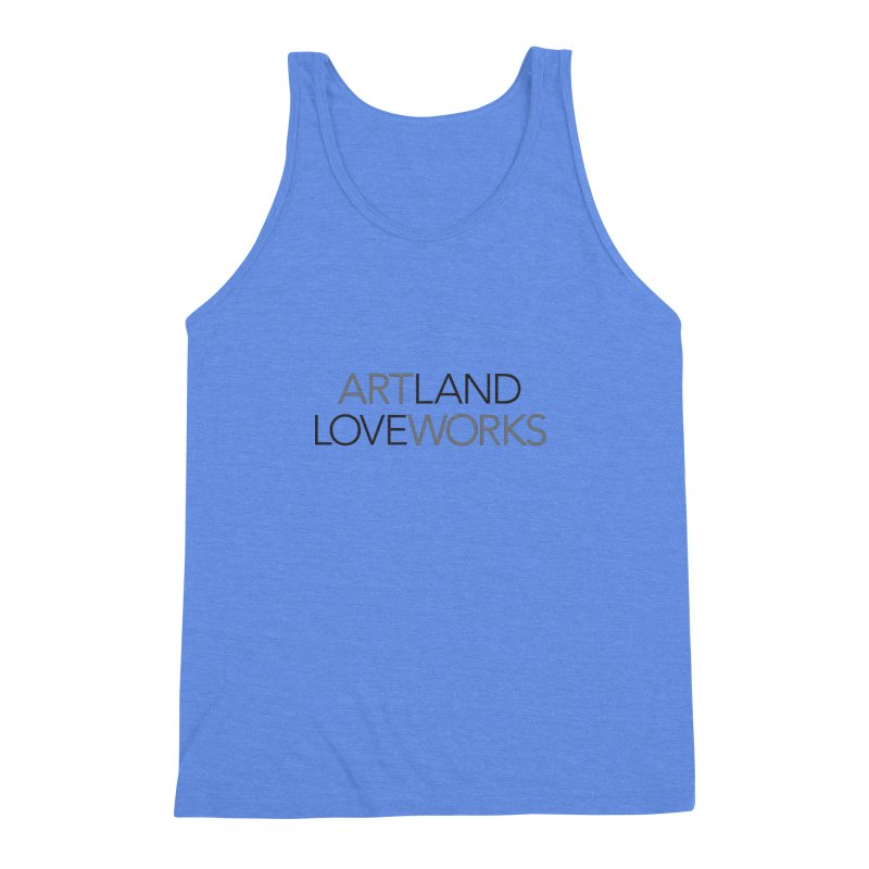Art Land Love Works Men's Triblend Tank by Artworks Loveland