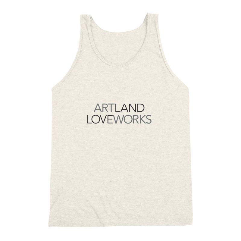 Art Land Love Works Men's Triblend Tank by Artworks Loveland