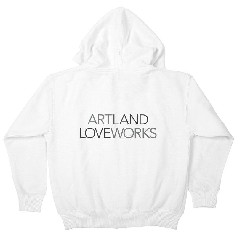 Art Land Love Works Kids Zip-Up Hoody by Artworks Loveland