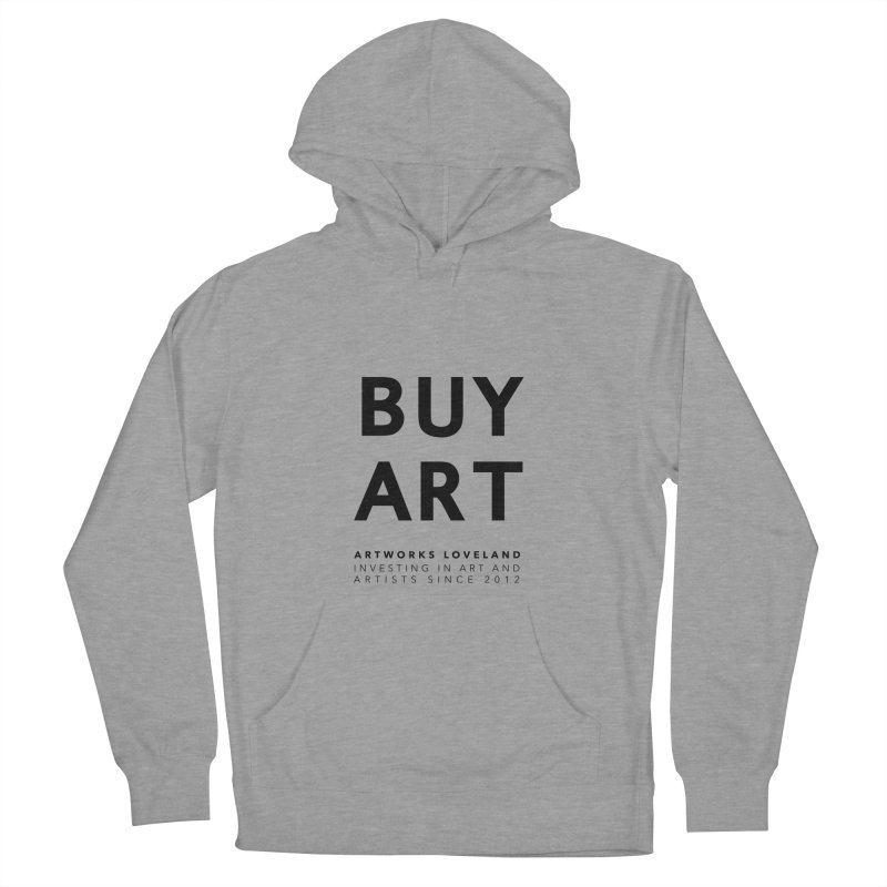 BUY ART Men's French Terry Pullover Hoody by Artworks Loveland