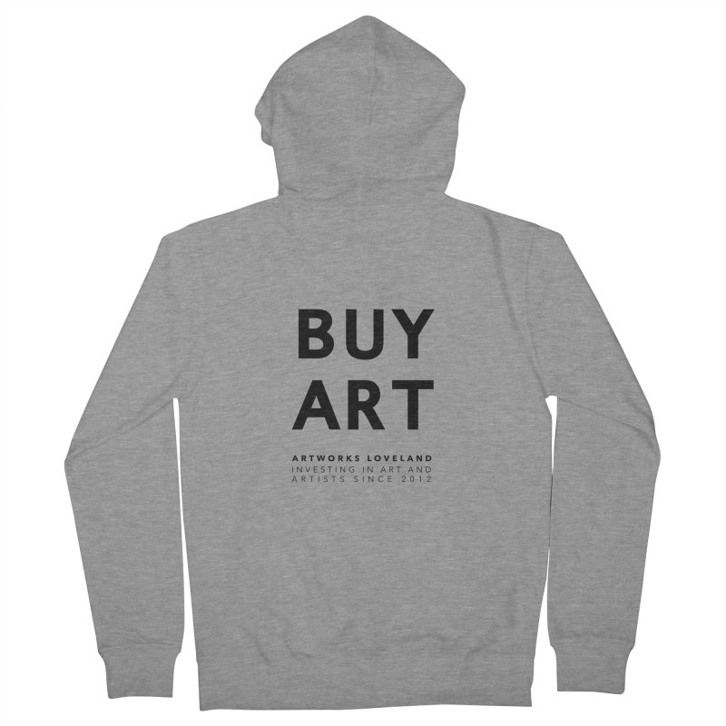 BUY ART Women's French Terry Zip-Up Hoody by Artworks Loveland
