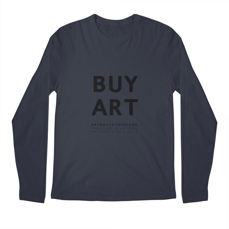 BUY ART Men's Regular Longsleeve T-Shirt by Artworks Loveland