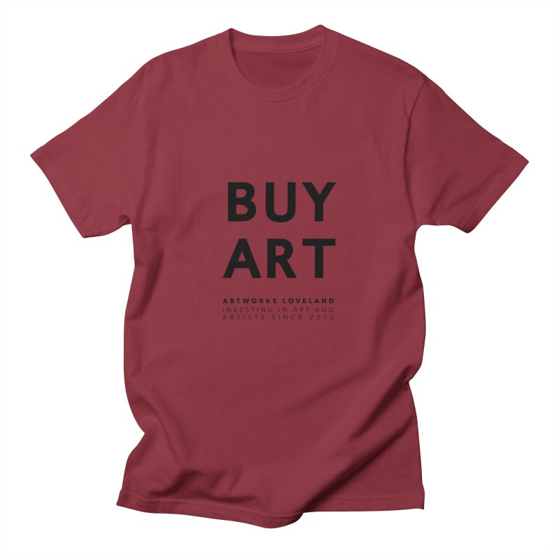 BUY ART Men's Regular T-Shirt by Artworks Loveland