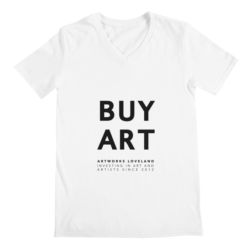 BUY ART Men's V-Neck by Artworks Loveland
