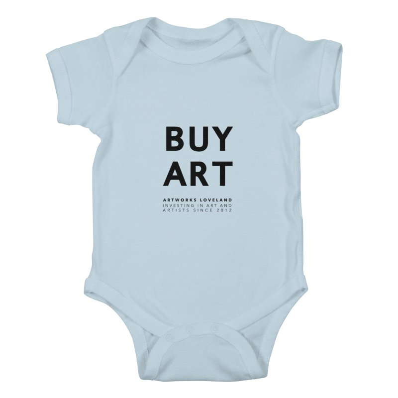 BUY ART Kids Baby Bodysuit by Artworks Loveland