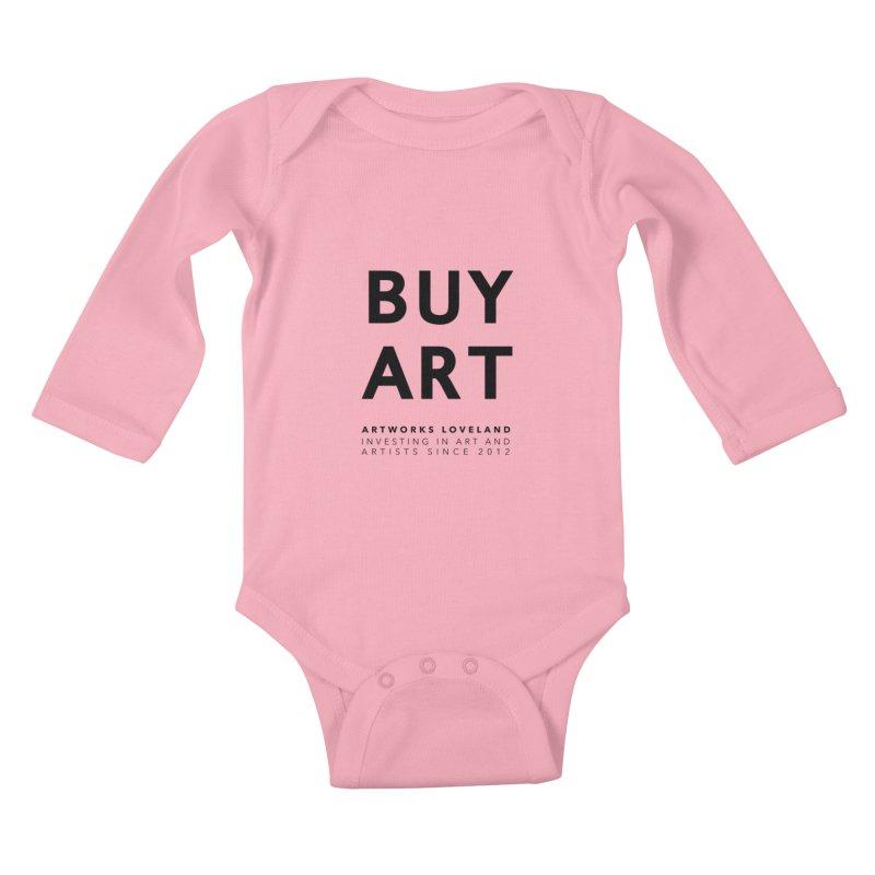 BUY ART Kids Baby Longsleeve Bodysuit by Artworks Loveland