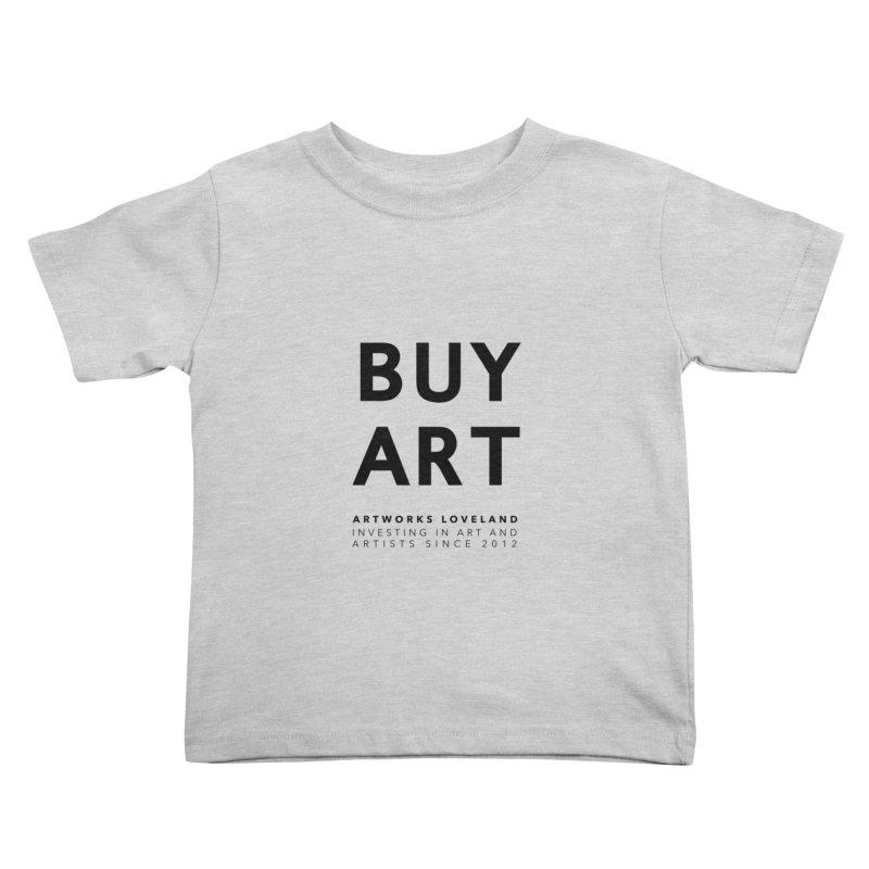 BUY ART Kids Toddler T-Shirt by Artworks Loveland