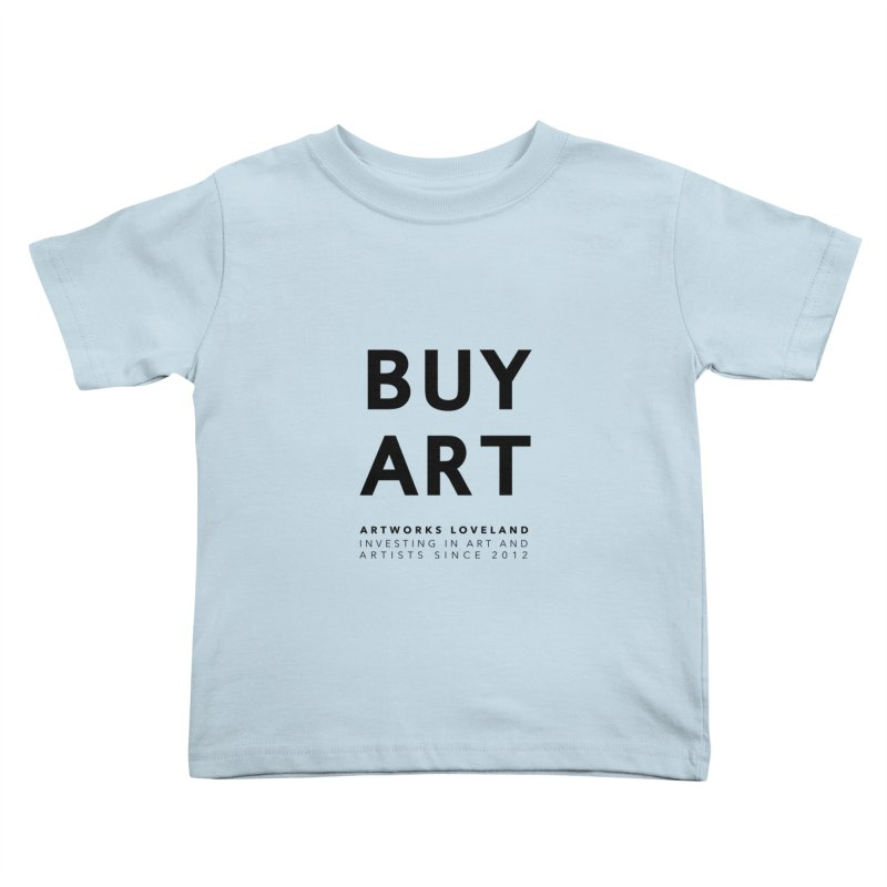 BUY ART Kids Toddler T-Shirt by Artworks Loveland