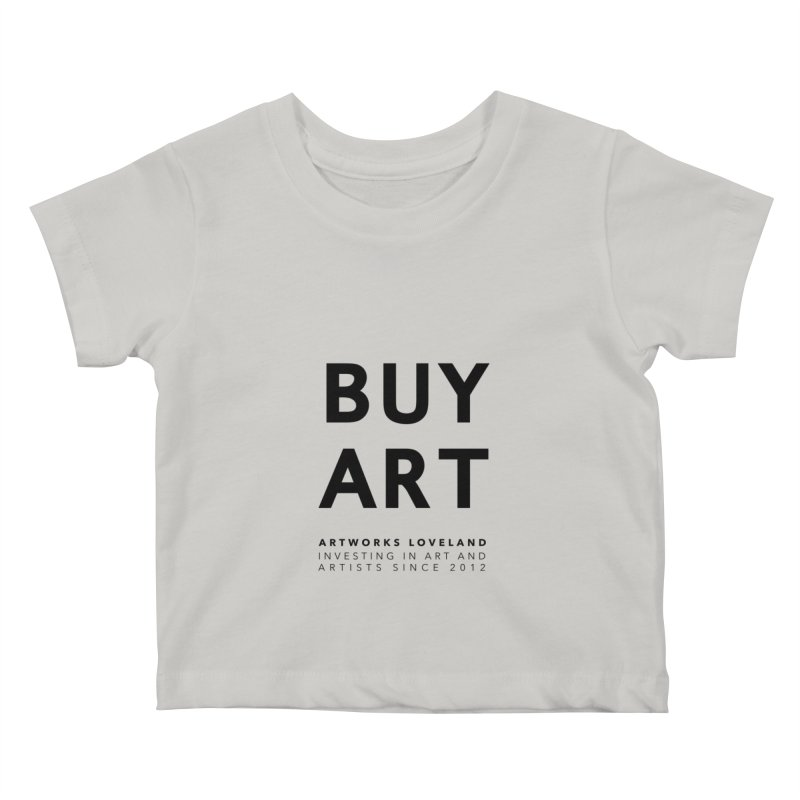 BUY ART Kids Baby T-Shirt by Artworks Loveland
