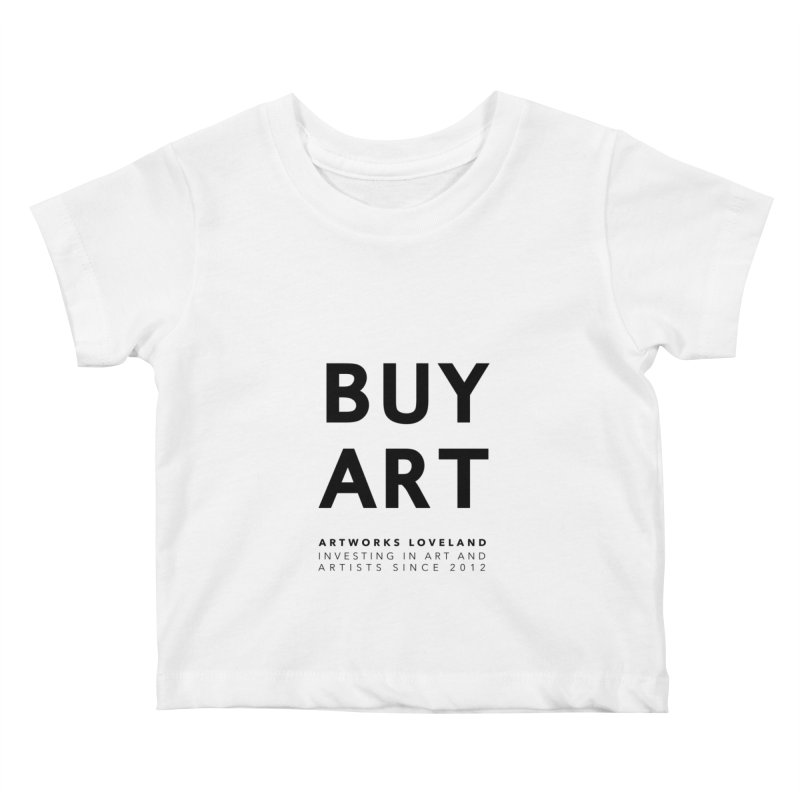 BUY ART Kids Baby T-Shirt by Artworks Loveland