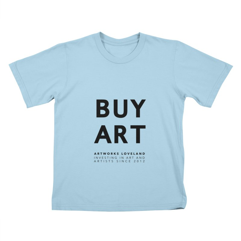 BUY ART Kids T-Shirt by Artworks Loveland