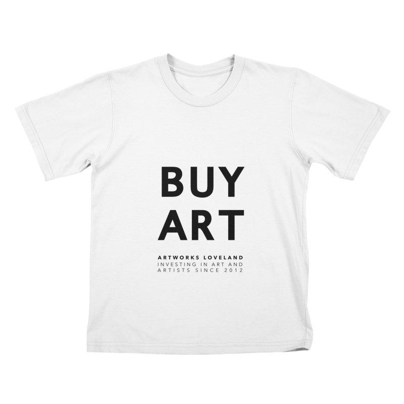 BUY ART Kids T-Shirt by Artworks Loveland