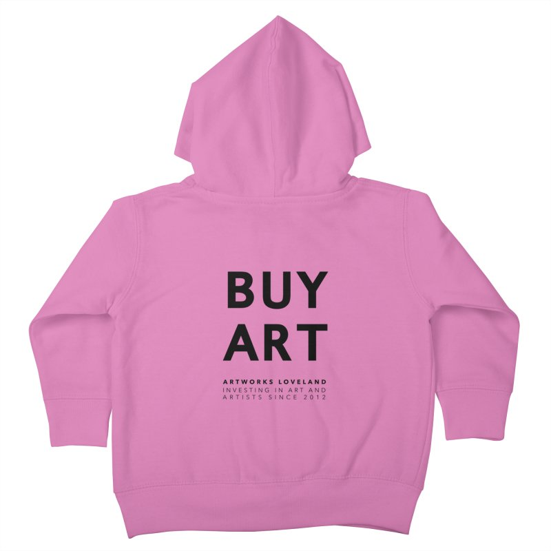 BUY ART Kids Toddler Zip-Up Hoody by Artworks Loveland