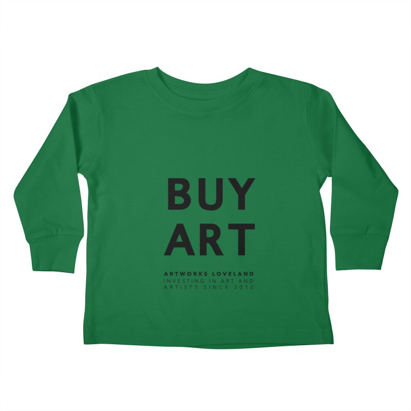 BUY ART Kids Toddler Longsleeve T-Shirt by Artworks Loveland