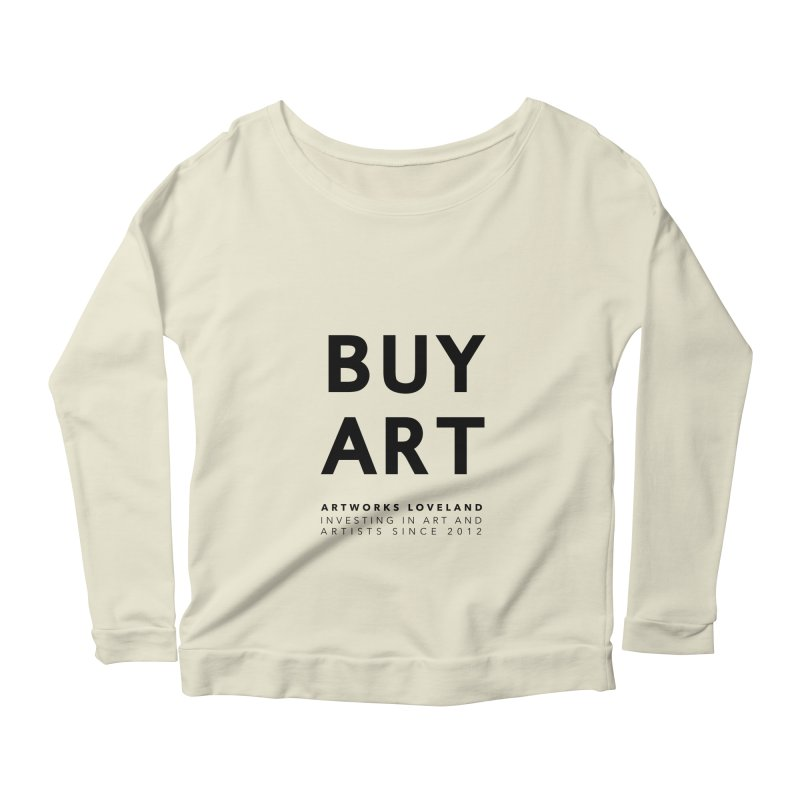BUY ART Women's Longsleeve Scoopneck  by Artworks Loveland