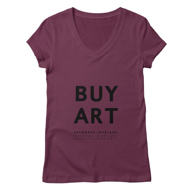 BUY ART Women's Regular V-Neck by Artworks Loveland