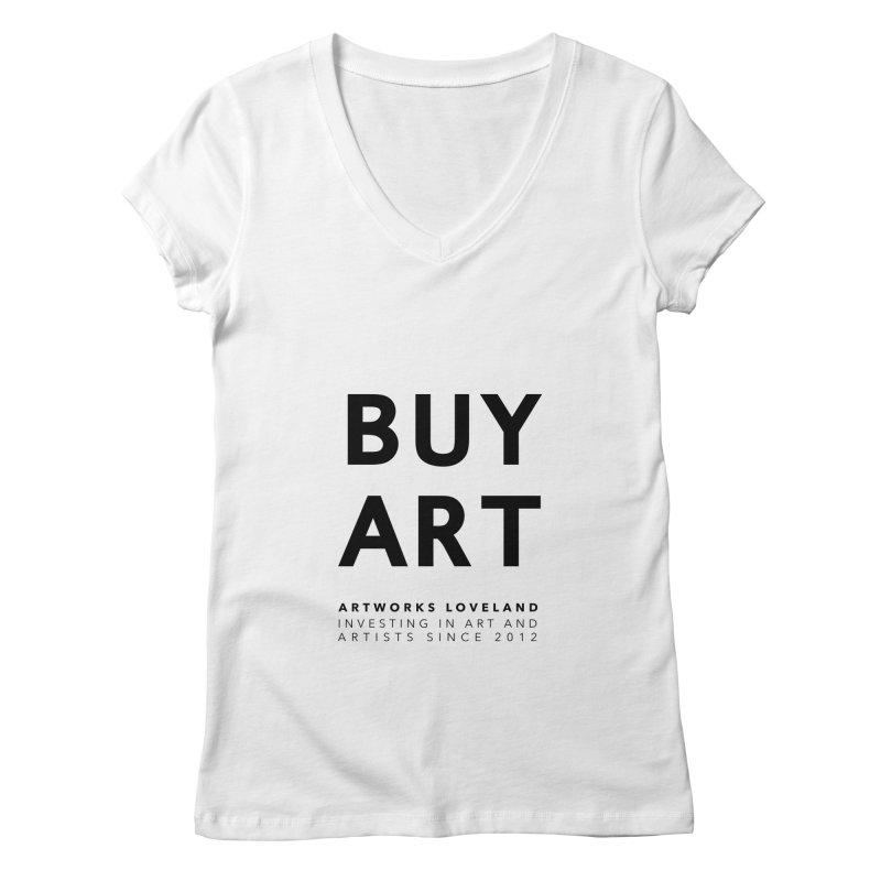 BUY ART Women's V-Neck by Artworks Loveland