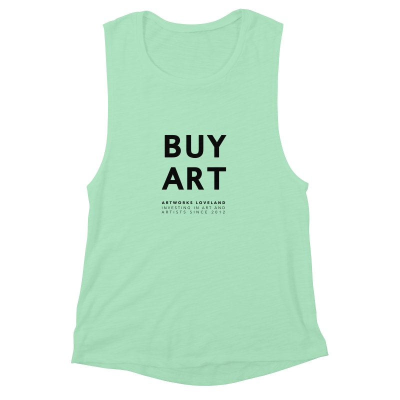 BUY ART Women's Muscle Tank by Artworks Loveland