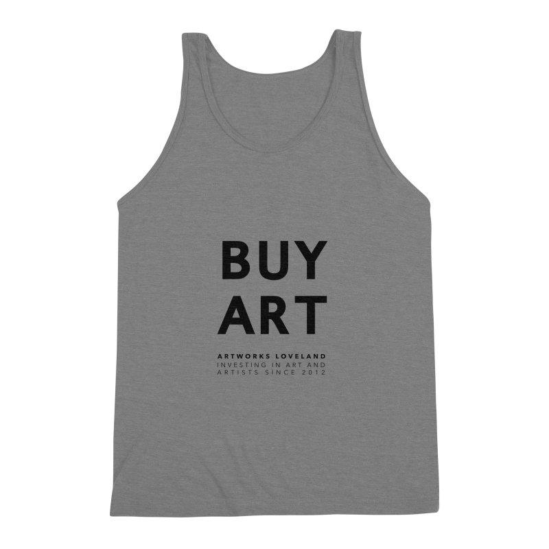 BUY ART Men's Triblend Tank by Artworks Loveland