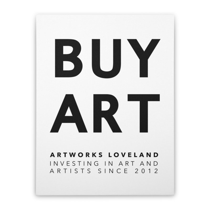 BUY ART Home Stretched Canvas by Artworks Loveland