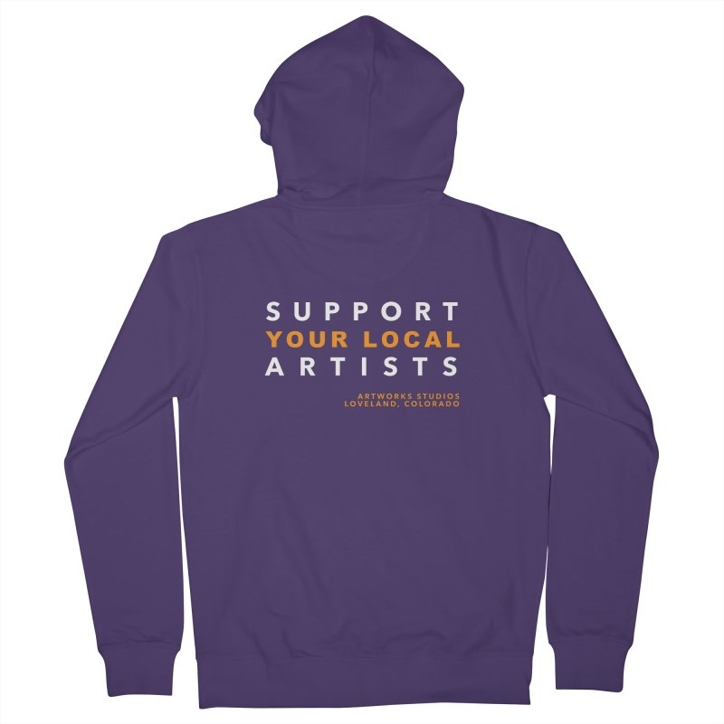 SUPPORT YOUR LOCAL ARTISTS Women's Zip-Up Hoody by Artworks Loveland