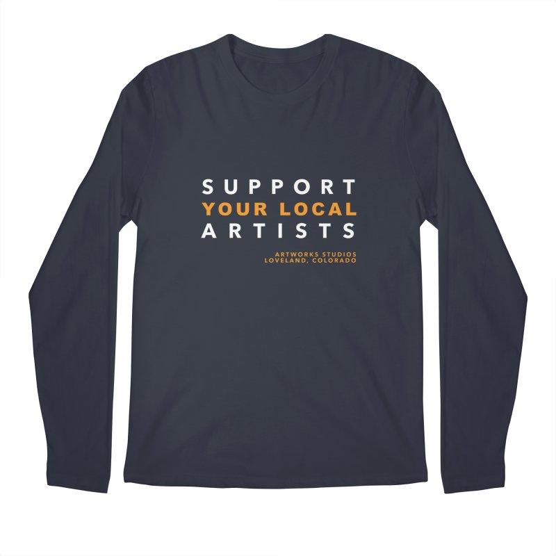 SUPPORT YOUR LOCAL ARTISTS Men's Regular Longsleeve T-Shirt by Artworks Loveland