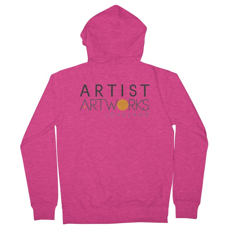 ARTWORKS ARTIST  Women's French Terry Zip-Up Hoody by Artworks Loveland