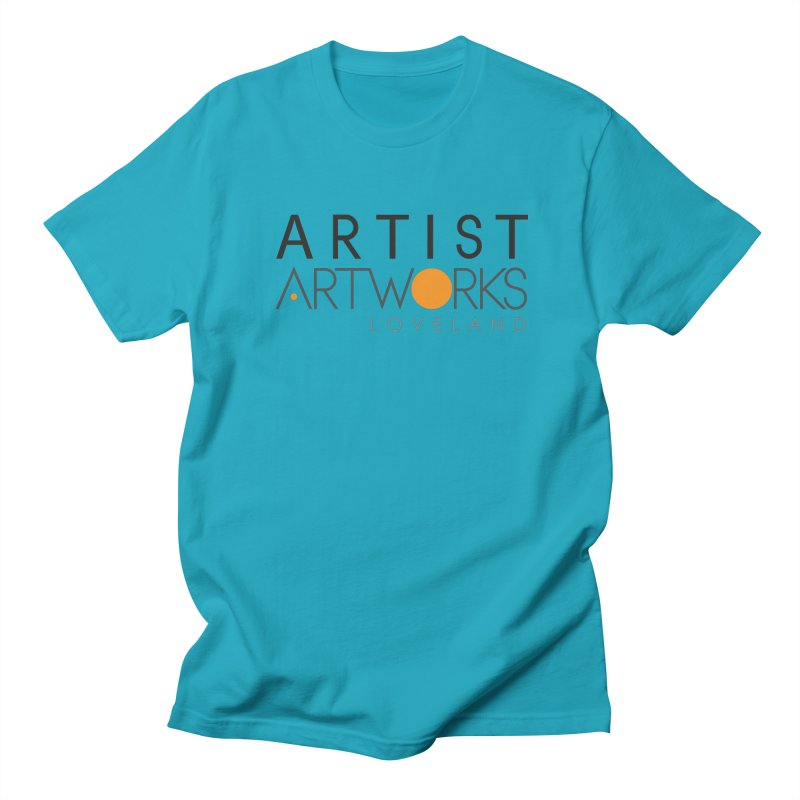 ARTWORKS ARTIST  Men's Regular T-Shirt by Artworks Loveland