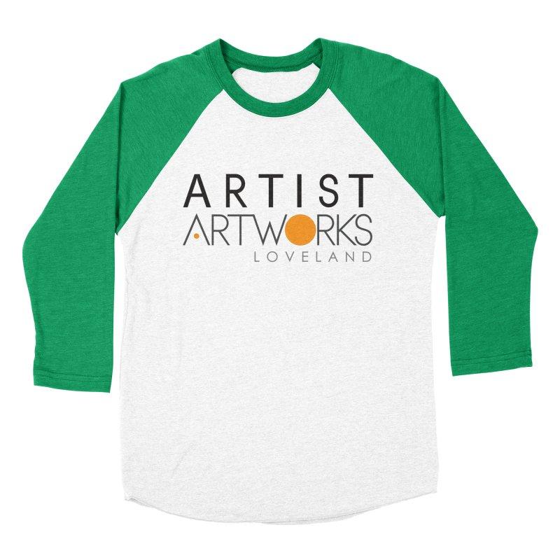 ARTWORKS ARTIST  Women's Baseball Triblend Longsleeve T-Shirt by Artworks Loveland