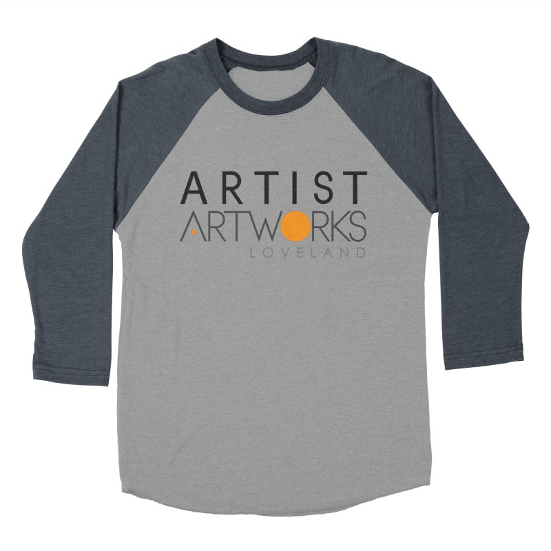 ARTWORKS ARTIST  Men's Baseball Triblend Longsleeve T-Shirt by Artworks Loveland