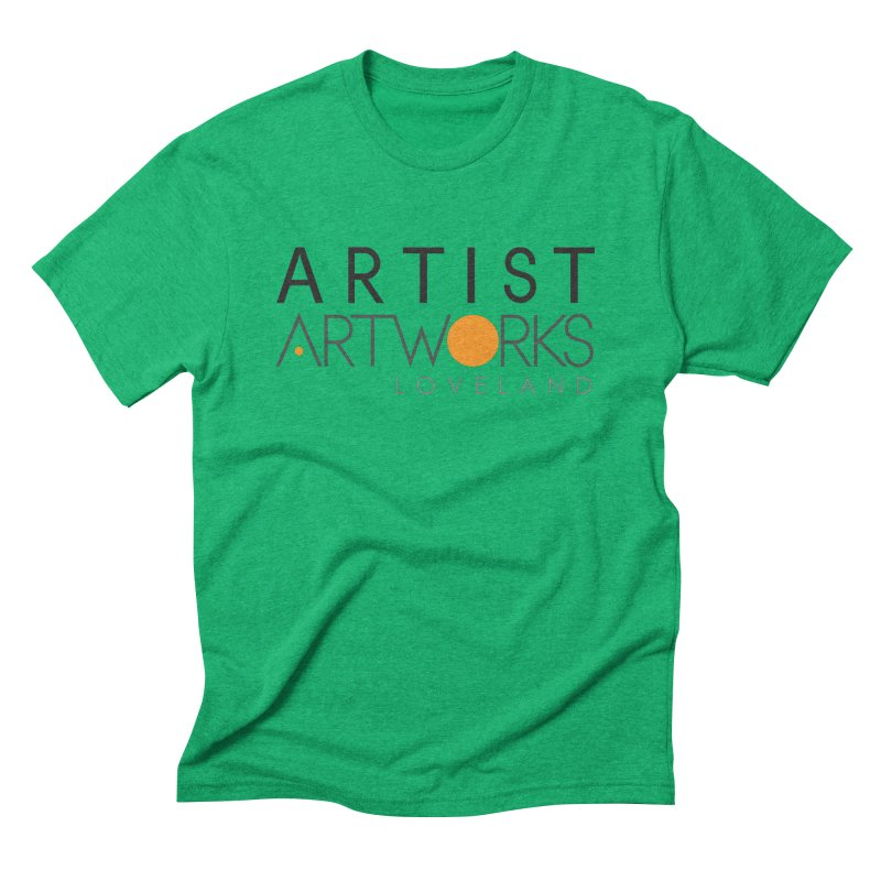 ARTWORKS ARTIST  Men's Triblend T-shirt by Artworks Loveland