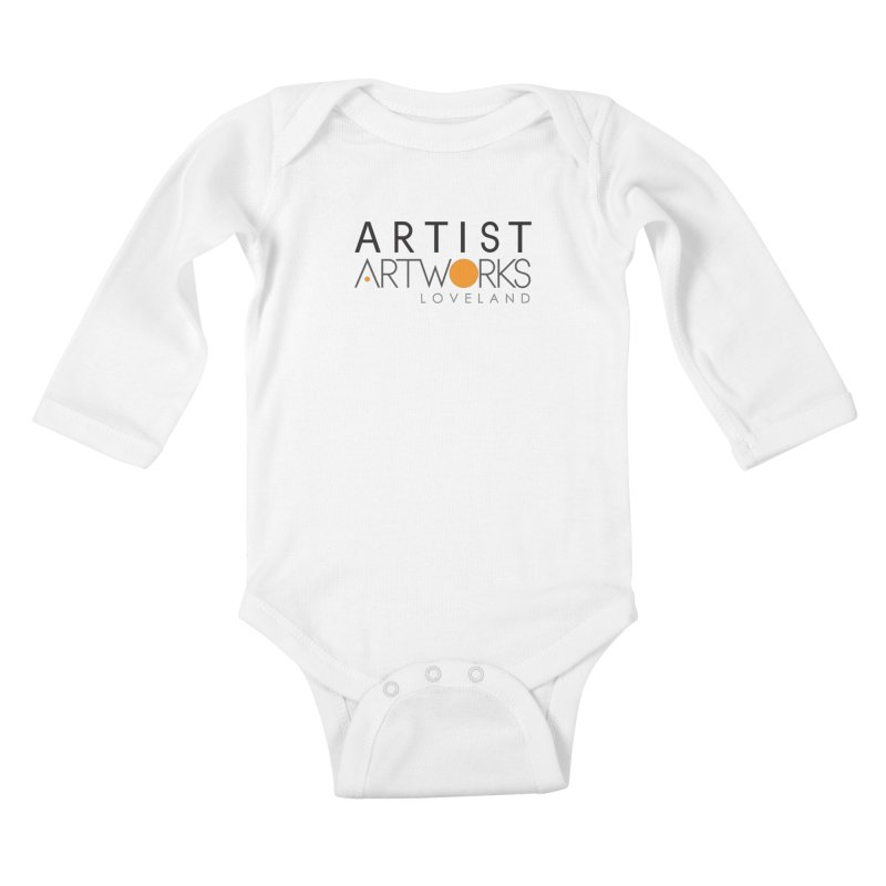ARTWORKS ARTIST  Kids Baby Longsleeve Bodysuit by Artworks Loveland