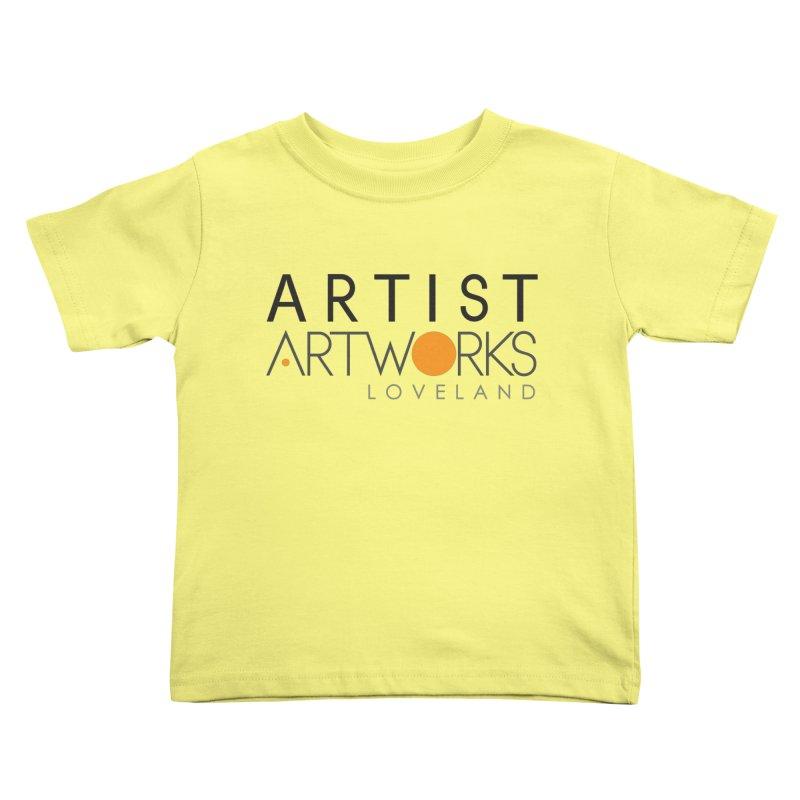 ARTWORKS ARTIST  Kids Toddler T-Shirt by Artworks Loveland