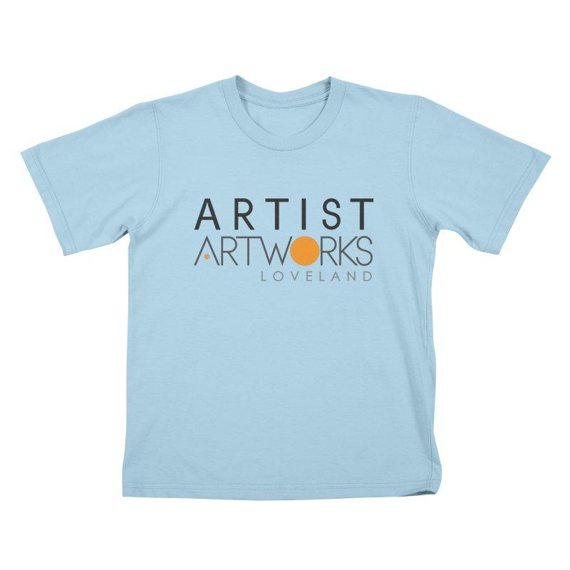 ARTWORKS ARTIST  Kids T-Shirt by Artworks Loveland