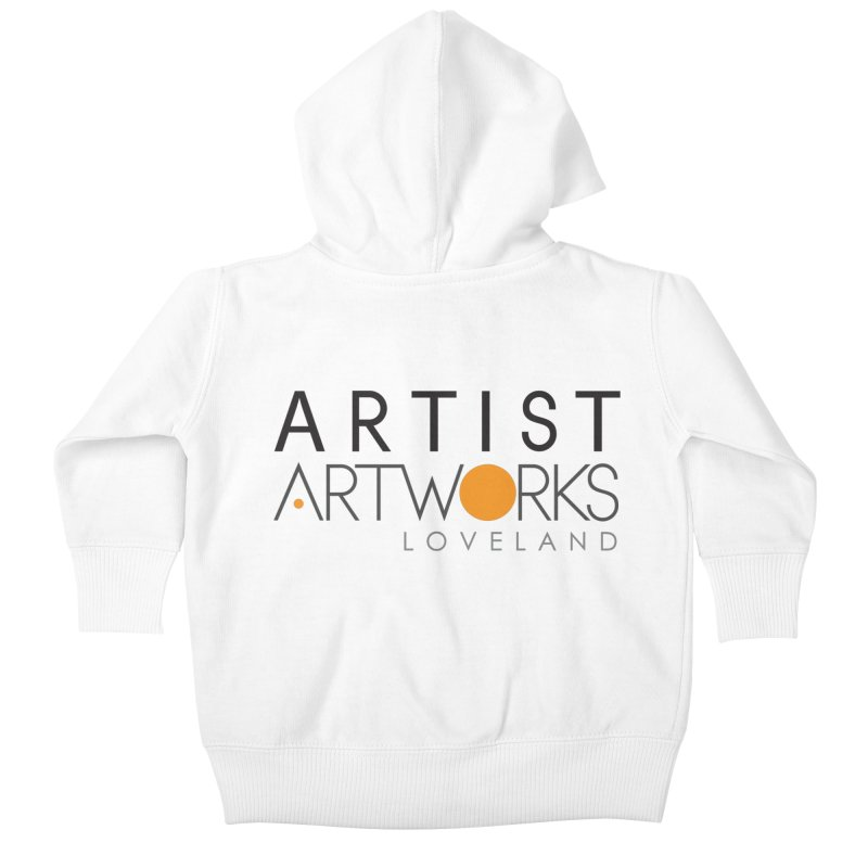 ARTWORKS ARTIST  Kids Baby Zip-Up Hoody by Artworks Loveland