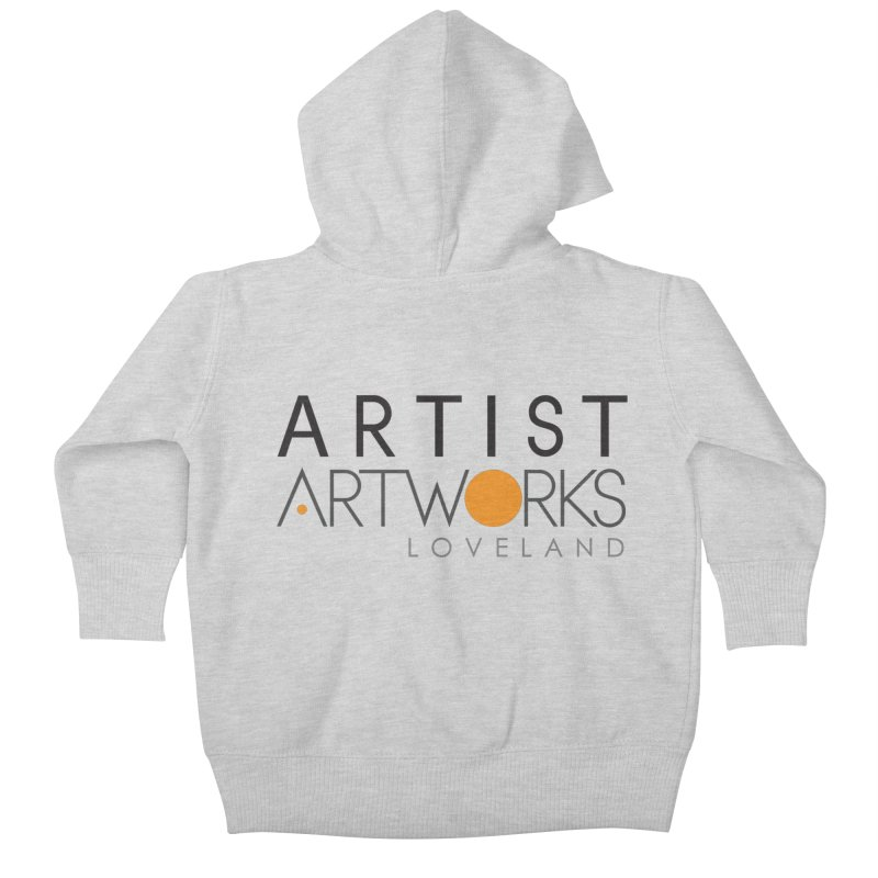 ARTWORKS ARTIST  Kids Baby Zip-Up Hoody by Artworks Loveland