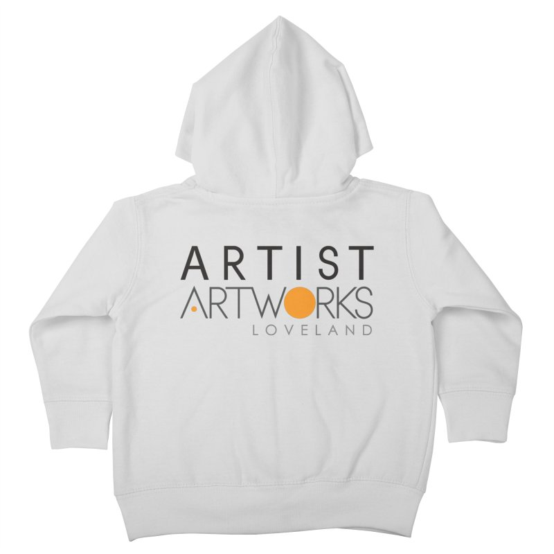 ARTWORKS ARTIST  Kids Toddler Zip-Up Hoody by Artworks Loveland