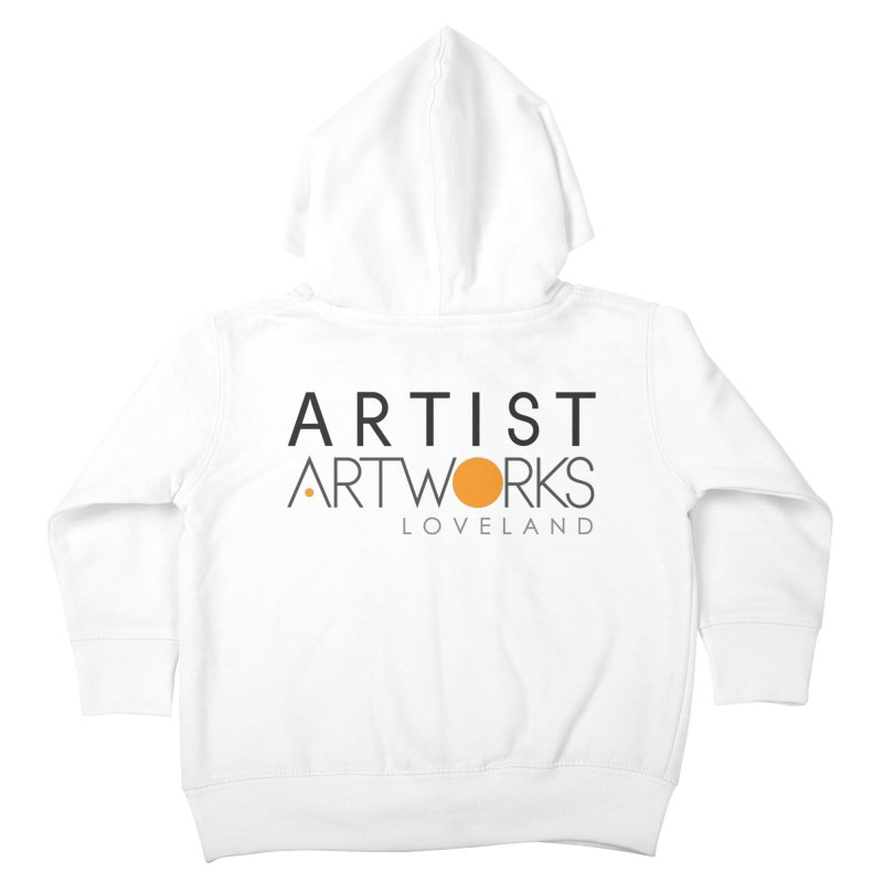 ARTWORKS ARTIST  Kids Toddler Zip-Up Hoody by Artworks Loveland