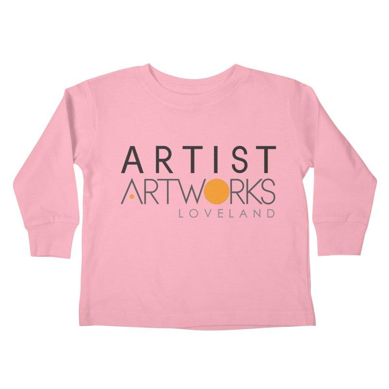 ARTWORKS ARTIST  Kids Toddler Longsleeve T-Shirt by Artworks Loveland