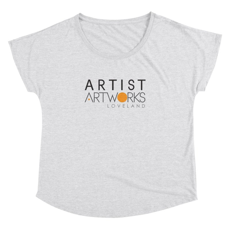 ARTWORKS ARTIST  Women's Dolman Scoop Neck by Artworks Loveland
