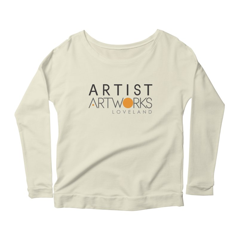 ARTWORKS ARTIST  Women's Longsleeve Scoopneck  by Artworks Loveland