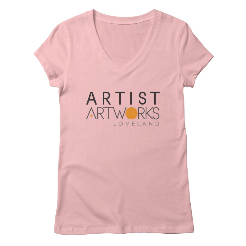 ARTWORKS ARTIST  Women's Regular V-Neck by Artworks Loveland