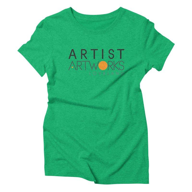 ARTWORKS ARTIST  Women's Triblend T-shirt by Artworks Loveland