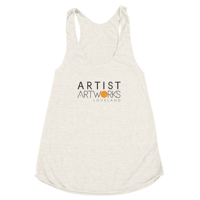 ARTWORKS ARTIST  Women's Racerback Triblend Tank by Artworks Loveland