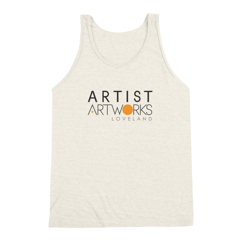 ARTWORKS ARTIST  Men's Triblend Tank by Artworks Loveland